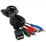 Component AV kabel voor Playstation 2 en 3 (PS2/PS3)